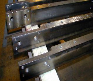 Redi-Rail® Wear Rail Custom Prehard 4140 Steel