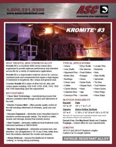 Kromite #3 Prehardened Alloy Flyer