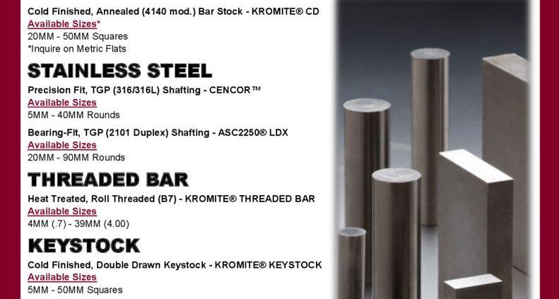 thumbnail of Metrics Metals Flyer